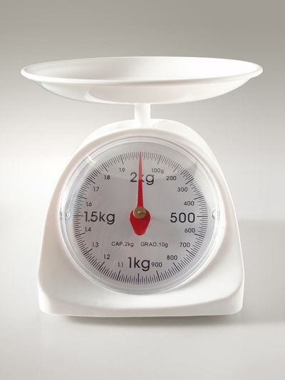 Do you use a kitchen scale to measure ingredients for How much is a kitchen scale