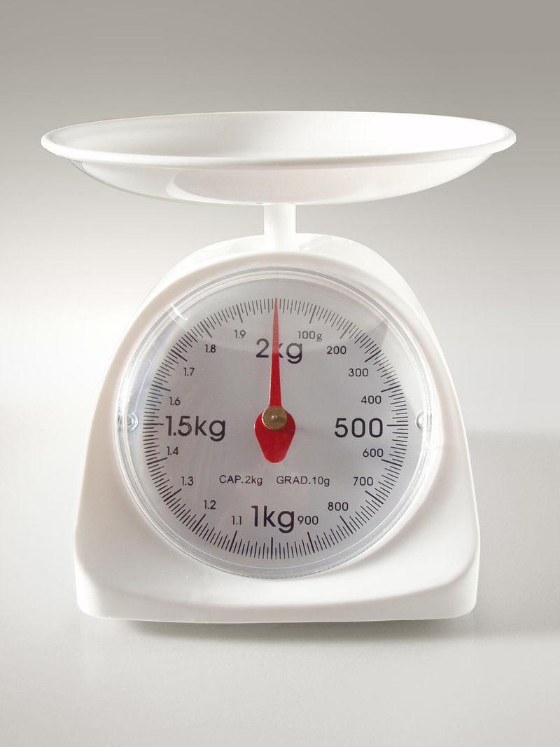 Do you use a kitchen scale to measure ingredients?